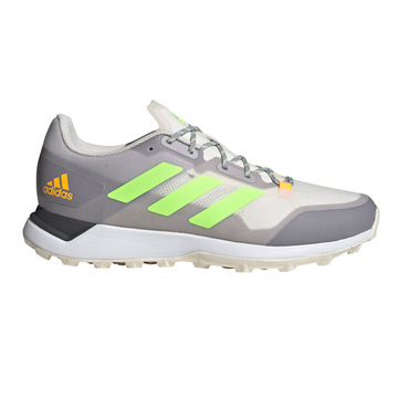 Adidas Zone Dox 2.0 Hockey Shoes (Chalk-Grey-Green)