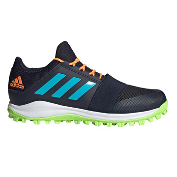 Adidas Divox Hockey Shoes (Ink-Green-Cyan)