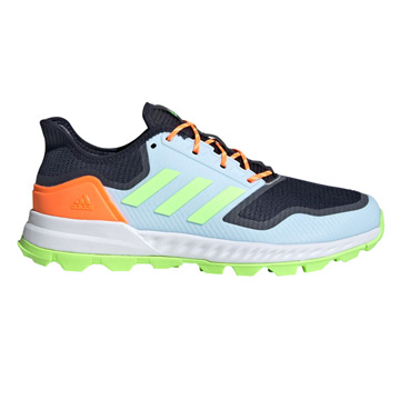 Adidas Adipower Hockey Shoes (Ink-Sky Blue-Green)
