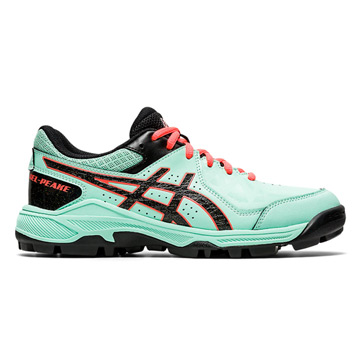 Asics Gel Field Peake Junior Hockey Shoes (Fresh Ice-Black)