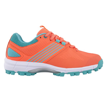 Grays Flash 2.0 Womens Hockey Shoes (Coral/Teal)